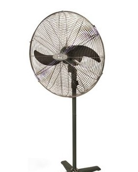 Standing Industrial Fans – Available in Black Colour
